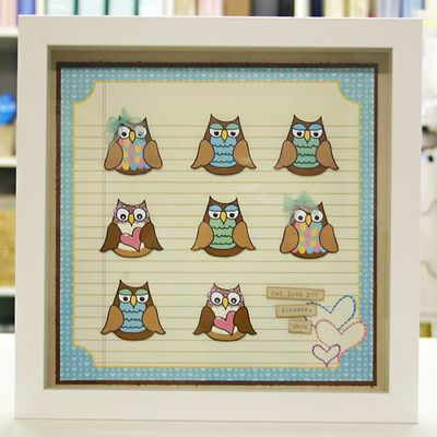 Owl frame 1