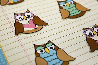 Owl frame 3