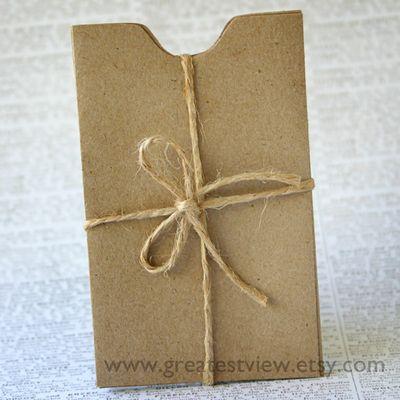 Kraft Envelopes 1 w