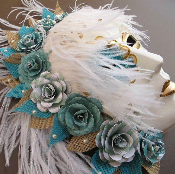 Melinda - Venetian Mask closeup 1