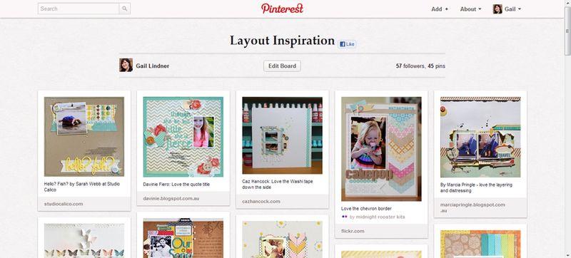Pinterest-layout-board