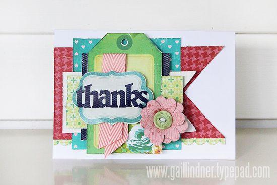 Thanks-Card