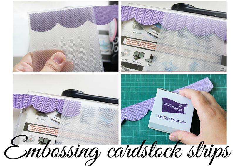 Embossing-Strips