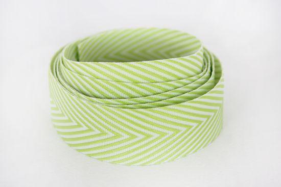 Chevron-Ribbon-Lime-Green-w