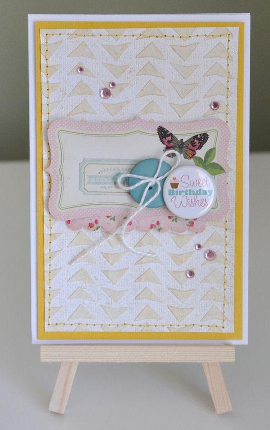 Sweet birthday wishes card
