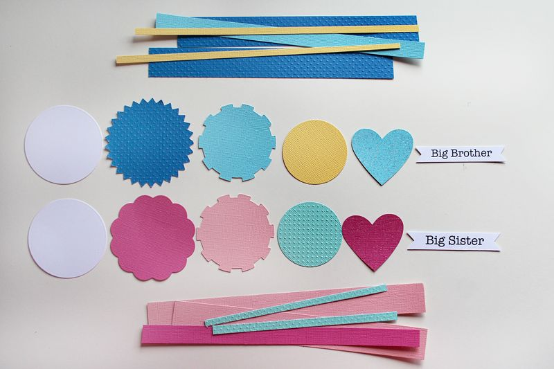 New baby ribbons layers