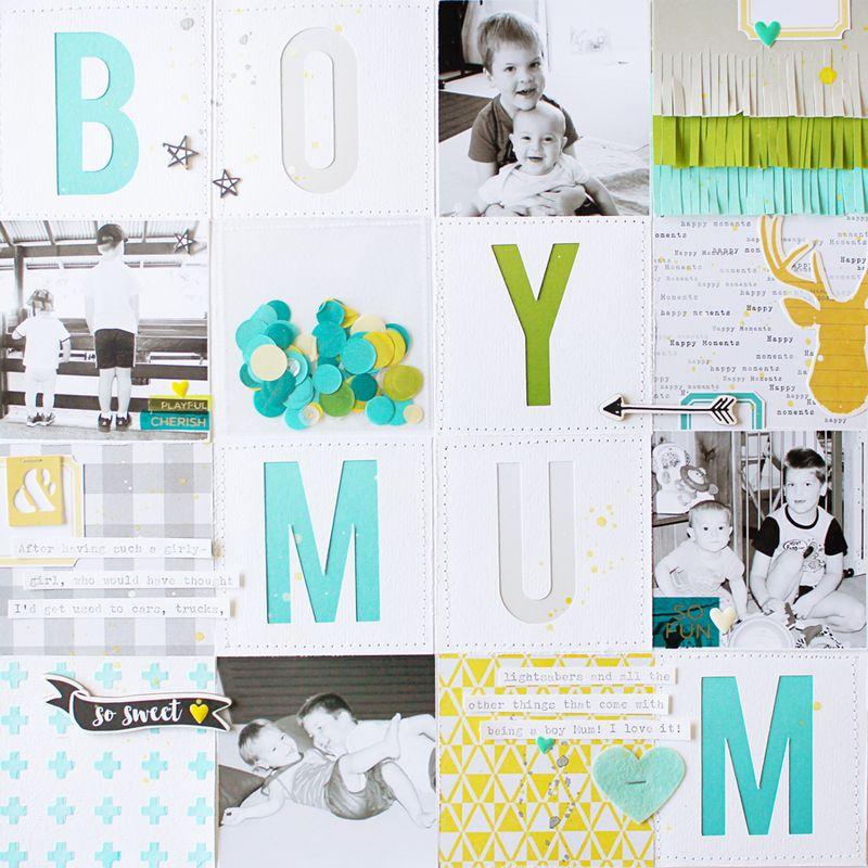 Boy-Mum